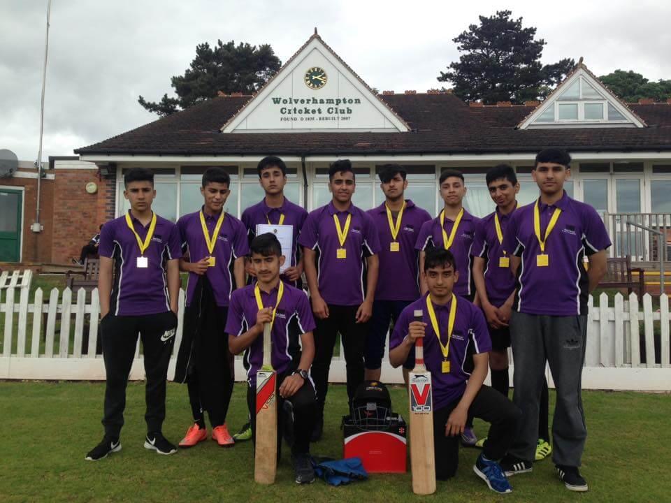 Under 15 Boys Staffordshire Cricket Champions West
